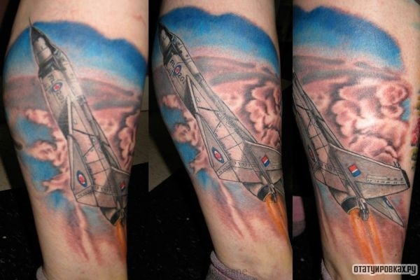 Татуировка воздух