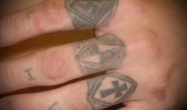 Перстни - татуировка заключенного на зоне
