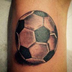 фотография футбольные татуировки