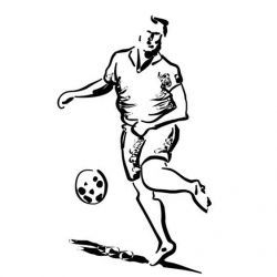 эскиз тату футбольные