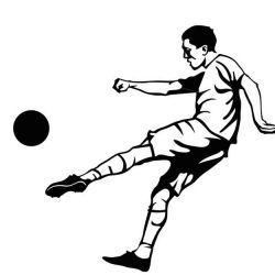футбольные фото, эскиз