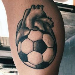 футбольные татуировки фотография