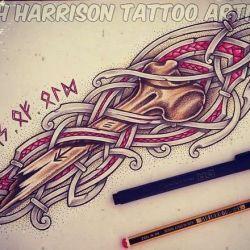 кельтские татуировки фото, эскиз