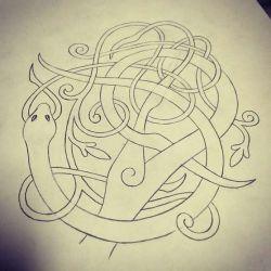 кельтские эскиз
