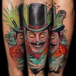 фотография магические татуировки
