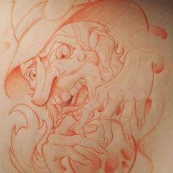 магические татуировки эскиз