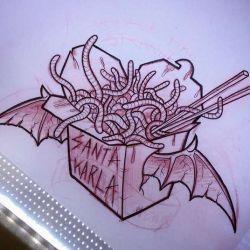 эскиз магические татуировки