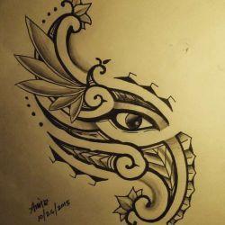 эскиз полинезийские