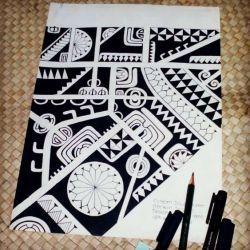 фото, эскиз полинезийские