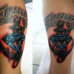 фото татуировка алмаз