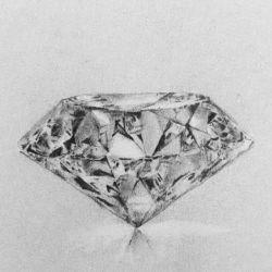 эскиз алмаз
