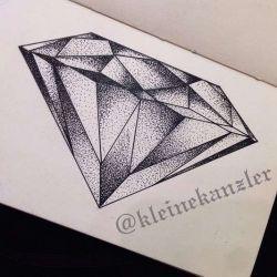 Татуировка алмаз эскиз