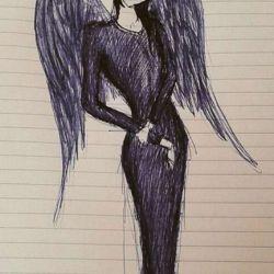 Официальный наряд девушки ангела
