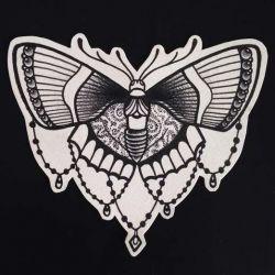 Татуировка бабочка эскиз