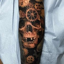 Татуировка биомеханика фото