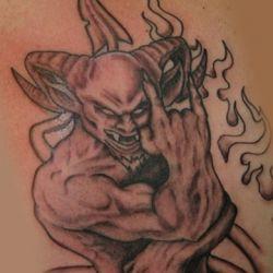 Пламя и демон