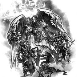 Большой демон, картина