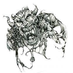 Страшный демон