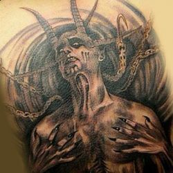 Демон и цепи