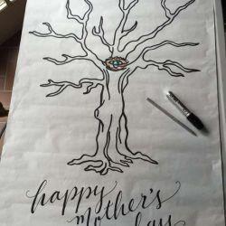 Татуировка дерево эскиз