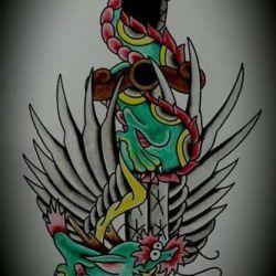 татуировка дракон фото, эскиз