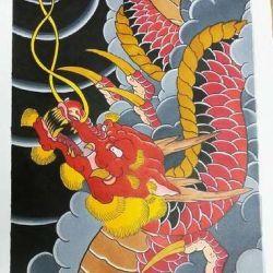 фото, эскиз дракон