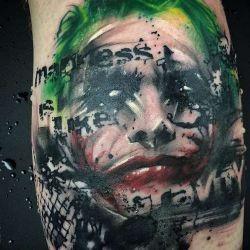 Татуировка джокер фото