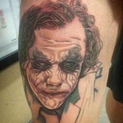 фотография татуировка джокер