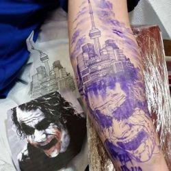 Татуировка джокер фотография