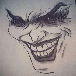 татуировка джокер эскиз