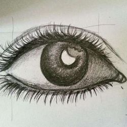 глаз эскиз