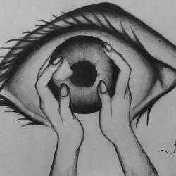 фото, эскиз татуировка глаз