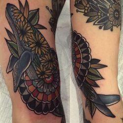Татуировка кит фото