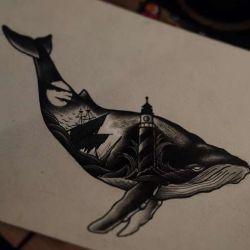 эскиз кит