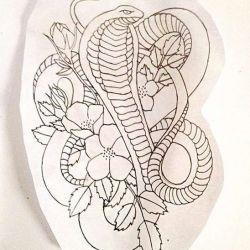 Татуировка кобра фото