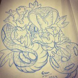 фото, эскиз татуировка кобра