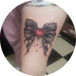 Татуировка кружево фото