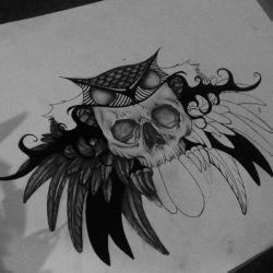 крылья эскиз