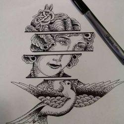 фото, эскиз татуировка ласточка