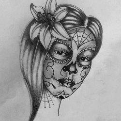лилия эскиз