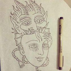 татуировка маски фото, эскиз