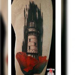 Татуировка маяк фото