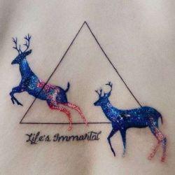 Татуировка олень фото