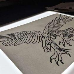 Татуировка орел эскиз