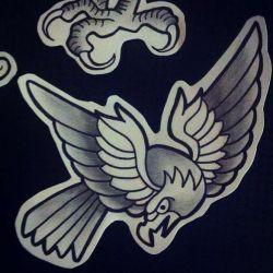 Татуировка орел фото, эскиз