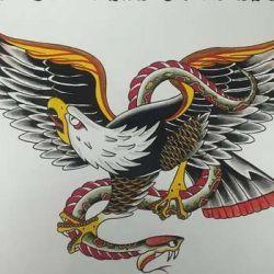 орел фото, эскиз