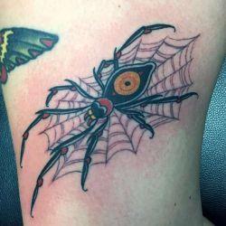 Татуировка паук фото