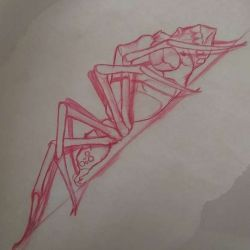 татуировка паук фото, эскиз