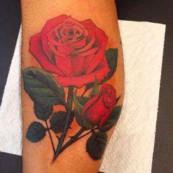 Татуировка роза фото