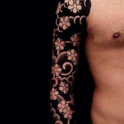 Татуировка сакура фото